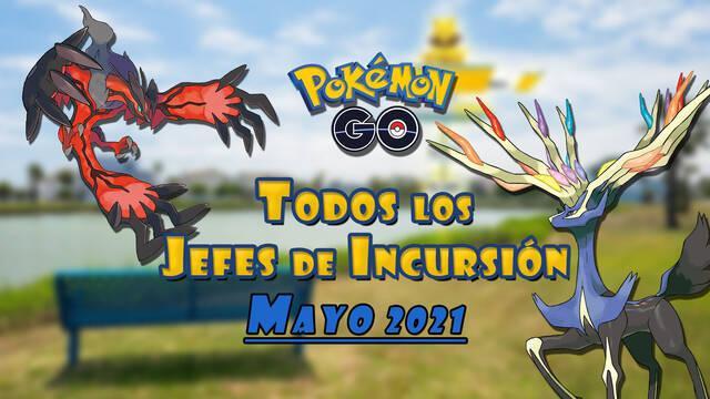 Pokémon Go: Todos los jefes de incursión de Mayo 2021 (nivel 1, 3, 5 y Mega)