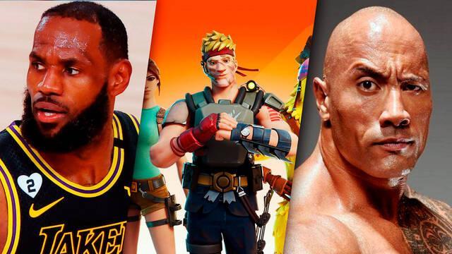 Fortnite: Se filtran skin de LeBron James, The Rock, Samus Aran y más