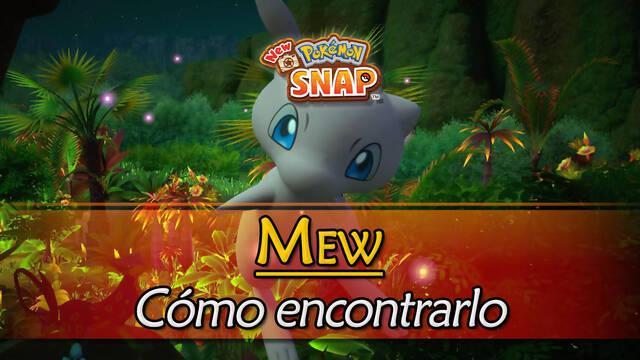 Mew en New Pokémon Snap: Cómo encontrarlo y fotografiarlo