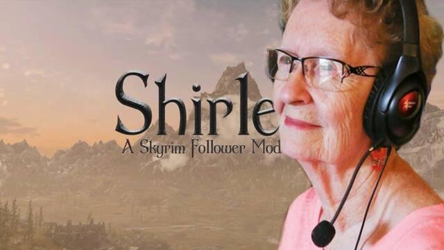 Shirley Curry se convierte en un personaje de Skyrim