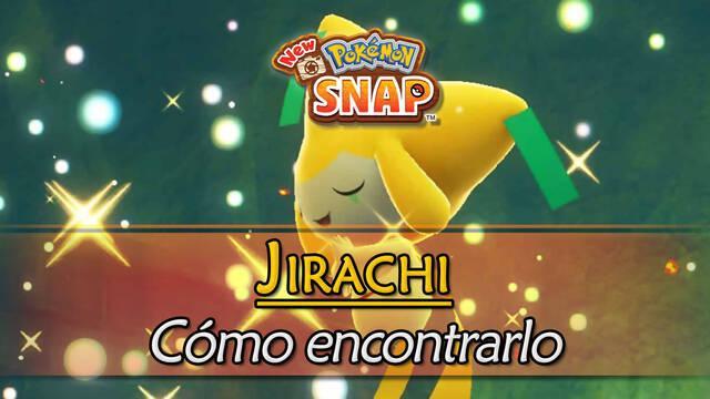 Jirachi en New Pokémon Snap: Cómo encontrarlo y fotografiarlo