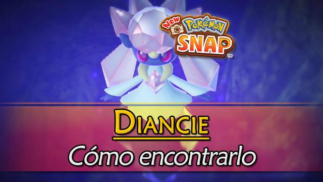 Diancie en New Pokémon Snap: Cómo encontrarlo y fotografiarlo