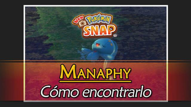 Manaphy en New Pokémon Snap: Cómo encontrarlo y fotografiarlo