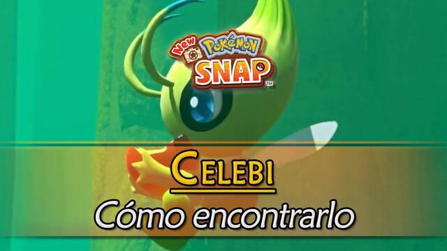 Celebi en New Pokémon Snap: Cómo encontrarlo y fotografiarlo