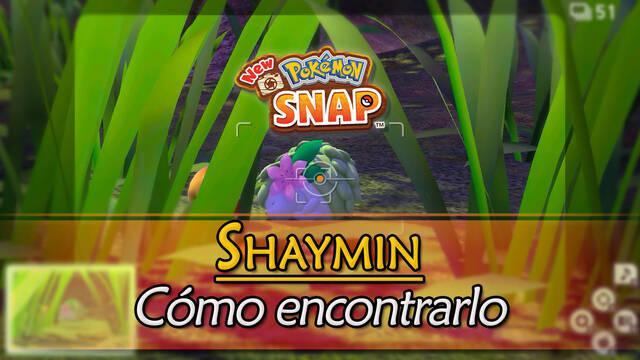 Shaymin en New Pokémon Snap: Cómo encontrarlo y fotografiarlo
