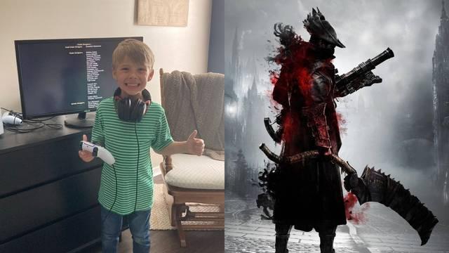 Un niño de 5 años consigue superar Bloodborne al completo