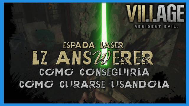 Resident Evil 8 Village: LZ Answerer - cómo conseguirla, cambiar de color y poderes