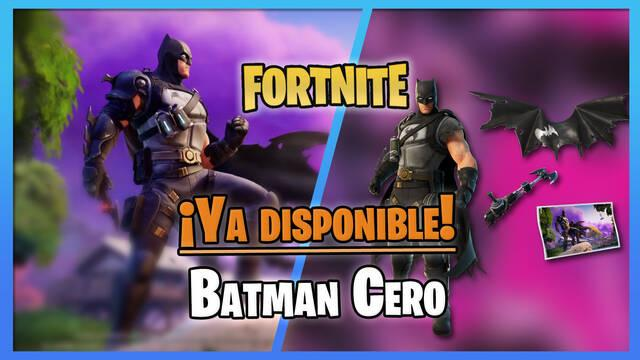Fortnite: Skin de Batman Cero ya disponible; ¿cómo conseguirlo?