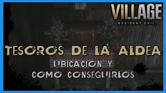 Resident Evil 8 Village: todos los tesoros de la aldea - Localización