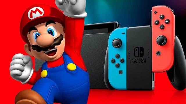 Switch alcanza los 84,59 millones de consolas vendidas en un año récord para Nintendo