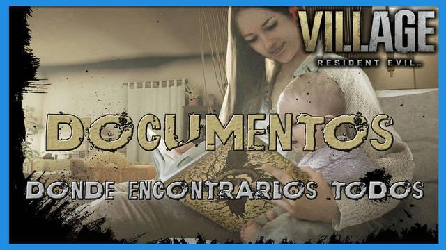 Resident Evil 8 Village: todos los documentos y su localización