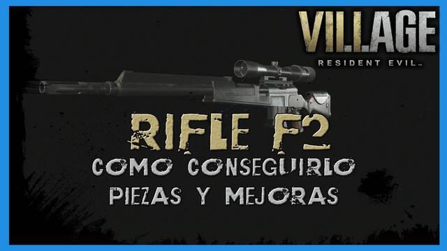 Resident Evil 8 Village: Rile F2 - cómo conseguirla, piezas y mejoras