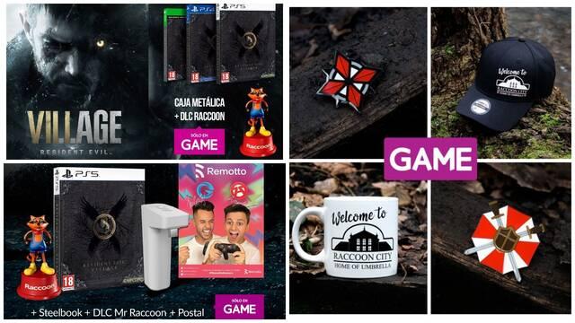 Promoción por el lanzamiento de Resident Evil 8: Village en GAME.