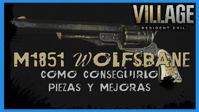Resident Evil 8 Village: M1851 Wolfsbane - cómo conseguirla, piezas y mejoras