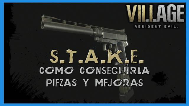 Resident Evil 8 Village: S.T.A.K.E. - cómo conseguirla, piezas y mejoras