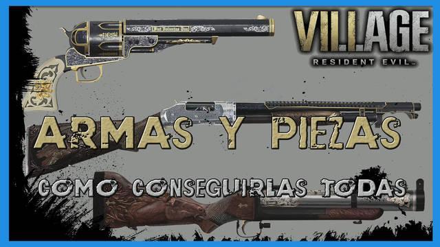 Resident Evil 8 Village: todas las armas y cómo conseguirlas