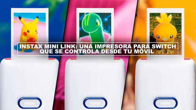 Instax Mini Link: Una impresora para Switch que se controla desde tu móvil