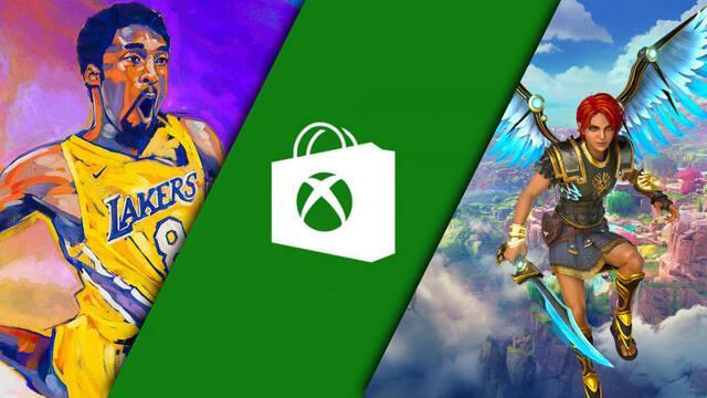 Nuevas ofertas digitales en Xbox Store para Xbox One y Xbox Series X/S.