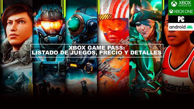 Xbox Game Pass: Listado de juegos, precios, cómo funciona...