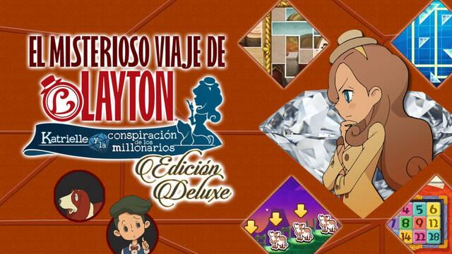 El misterioso viaje de Layton: Katrielle Deluxe Edition Plus llegará a Nintendo Switch