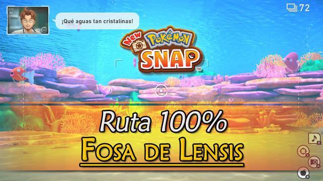 New Pokémon Snap: Fosa de Lensis de Miriadis al 100% y Pokémon
