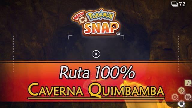 New Pokémon Snap: Caverna Quimbamba de Durus al 100% y Pokémon