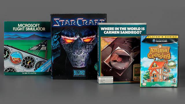 El Salón de la Fama del Videojuego suma cuatro nuevos juegos a su colección