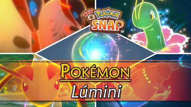 Pokémon Lúmini de New Pokémon Snap: Cómo fotografiarlos a todos
