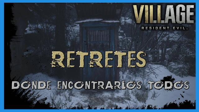 Resident Evil 8 Village: todos los retretes de la aldea - Localización