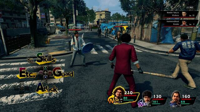 Yakuza se convierte en una saga RPG por turnos.