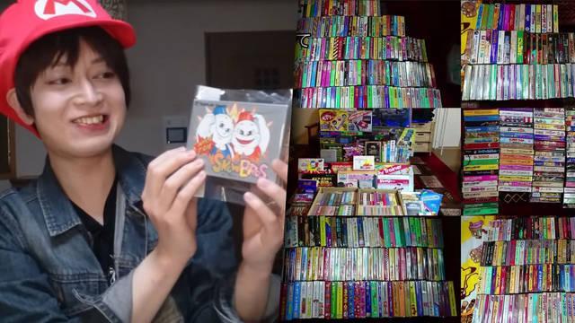 Consigue coleccionar los 1053 juegos de Famicom después de 20 años.