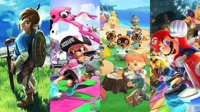 36 juegos de Nintendo Switch han superado el millón de unidades vendidas.