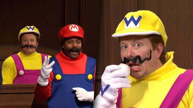 Elon Musk interpreta a Wario en un sketch sobre el asesinato de Mario.