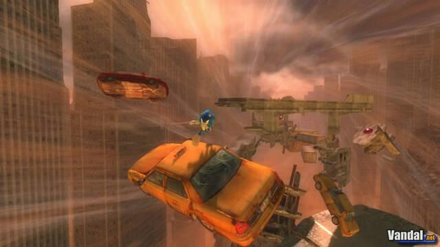 Nuevas imágenes de Sonic para PS3 y Xbox 360
