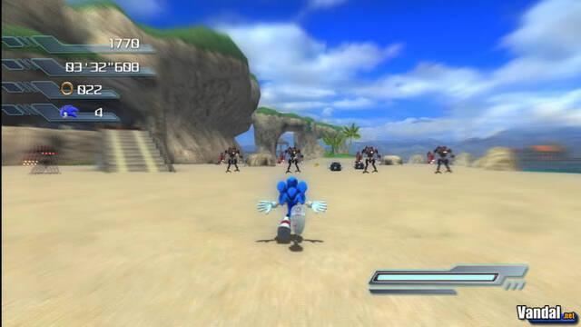 Imágenes del contenido descargable de Sonic para PS3