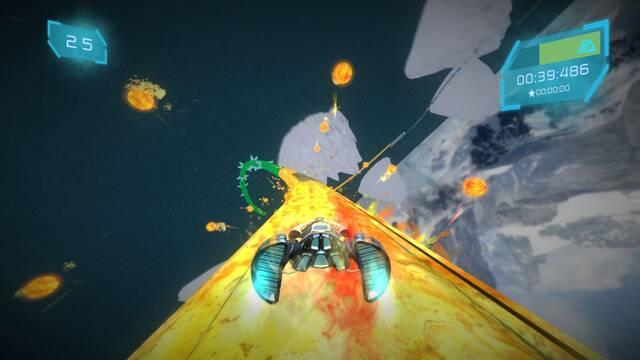 Astral Traveler, un juego de carreras tipo arcade, presenta su tráiler