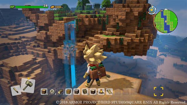 Llegan nuevas imágenes de Dragon Quest Builders 2