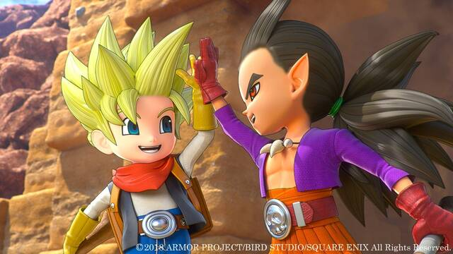 Así funciona el multijugador de Dragon Quest Builders 2