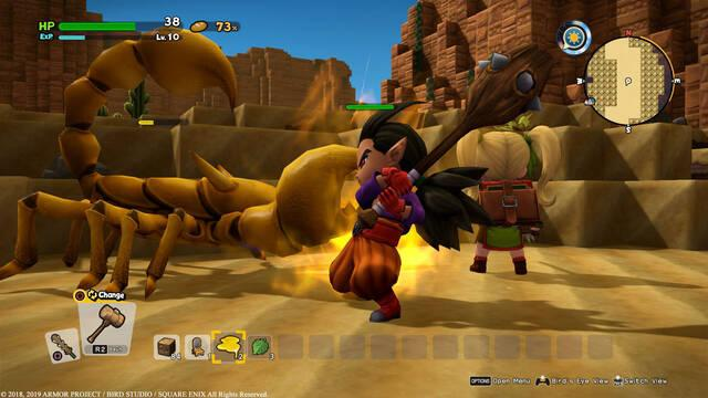 Todo sobre el Combate en Dragon Quest Builders 2