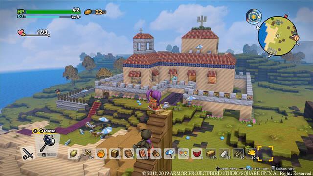 Todo sobre el modo Multijugador en Dragon Quest Builders 2