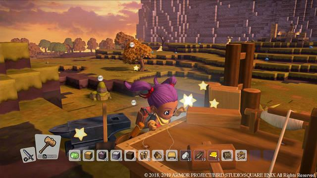 Recetas y construcciones básicas en Dragon Quest Builders 2
