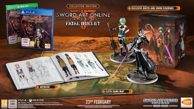 Sword Art Online: Fatal Bullet llegará el 23 de febrero a Occidente