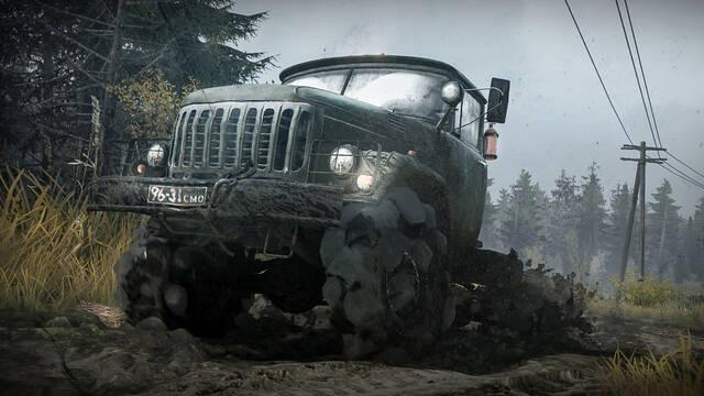 Spintires: MudRunner estará disponible el 31 de octubre en PC y consolas