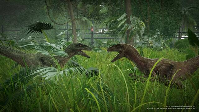 Jurassic World Evolution muestra 20 minutos de su jugabilidad
