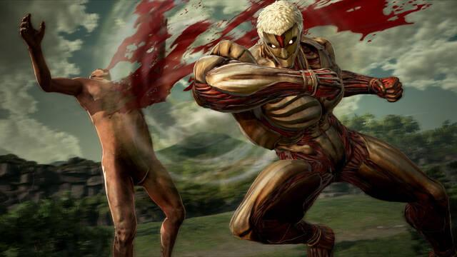 El modo Showdown se suma a Attack on Titan 2