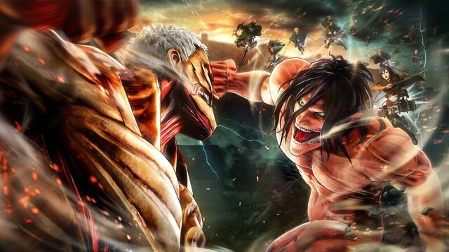 Koei Tecmo anuncia Attack on Titan 2