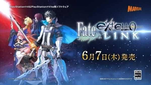 Fate/EXTELLA Link se lanzará para PS4 y PS Vita en junio
