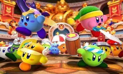 El juego de acción Kirby Battle Royale ya está disponible en Nintendo 3DS