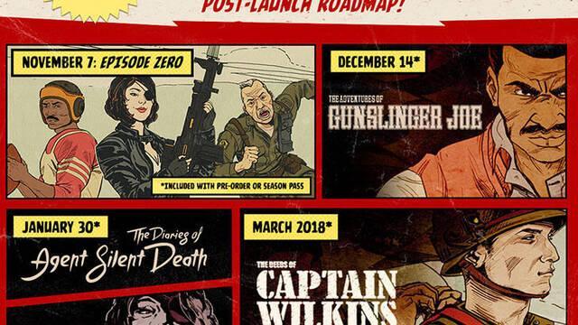 Bethesda revela las fechas de las expansiones de Wolfenstein II