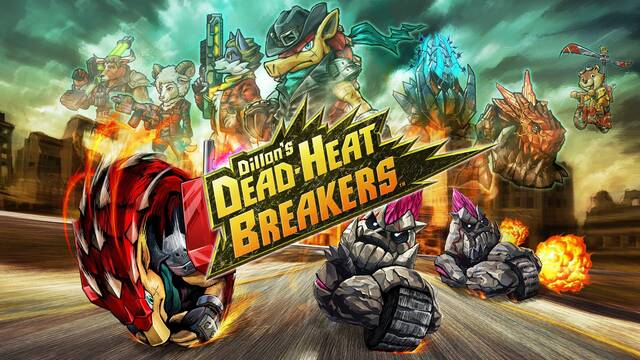 Dillon's Dead-Heat Breakers llegará a Nintendo 3DS el 25 de mayo